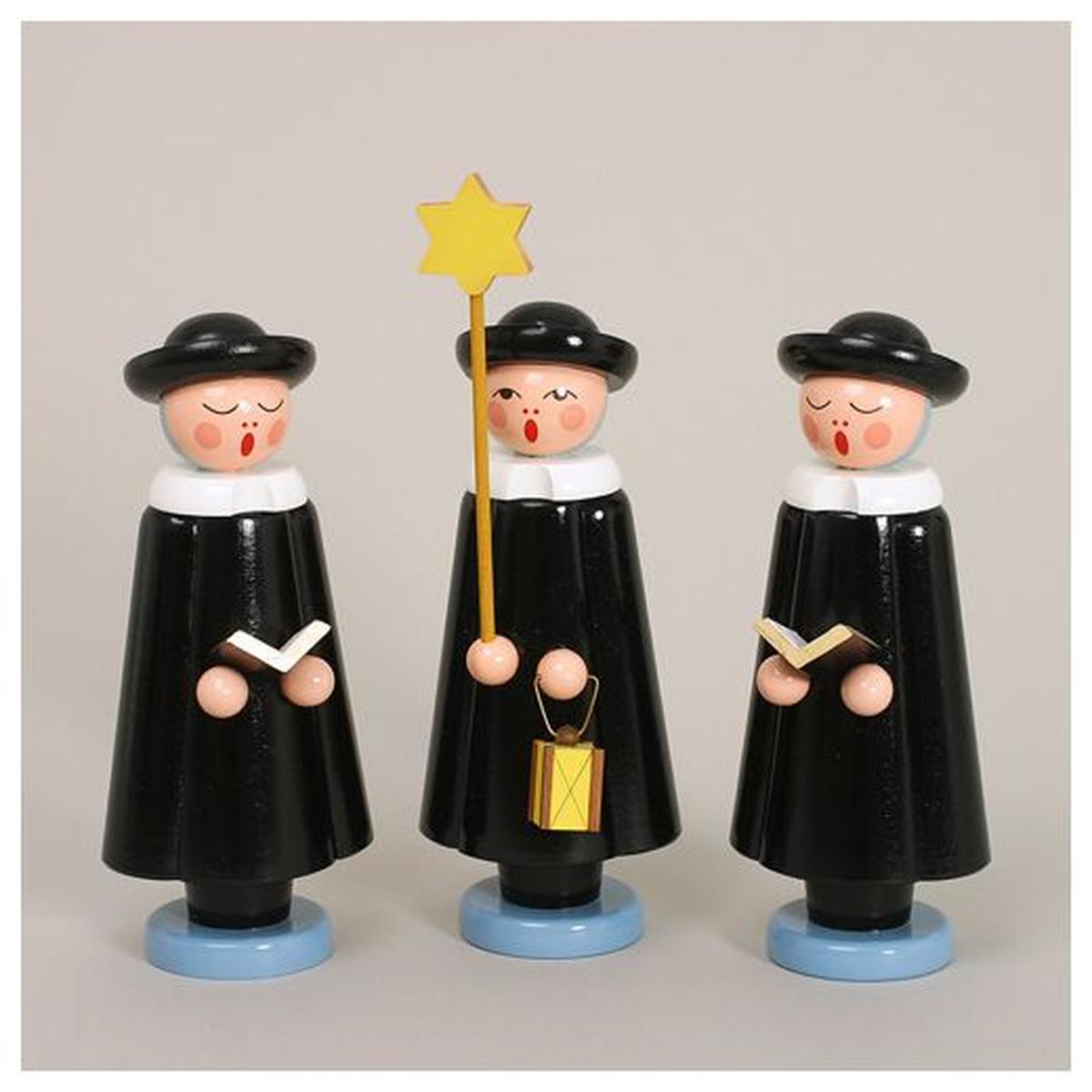 Kurrende figuren 3 teilig von zeidler holzkunst f r 180 - Weihnachtsdeko figuren ...