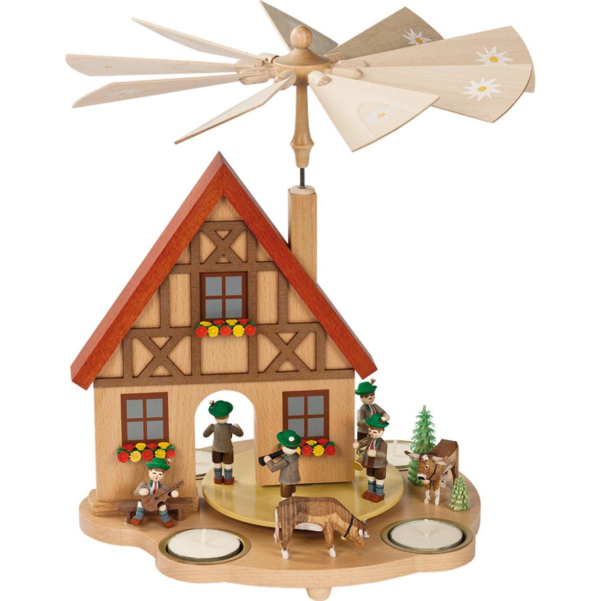 pyramidenhaus f r teelichte haus bayern von richard. Black Bedroom Furniture Sets. Home Design Ideas
