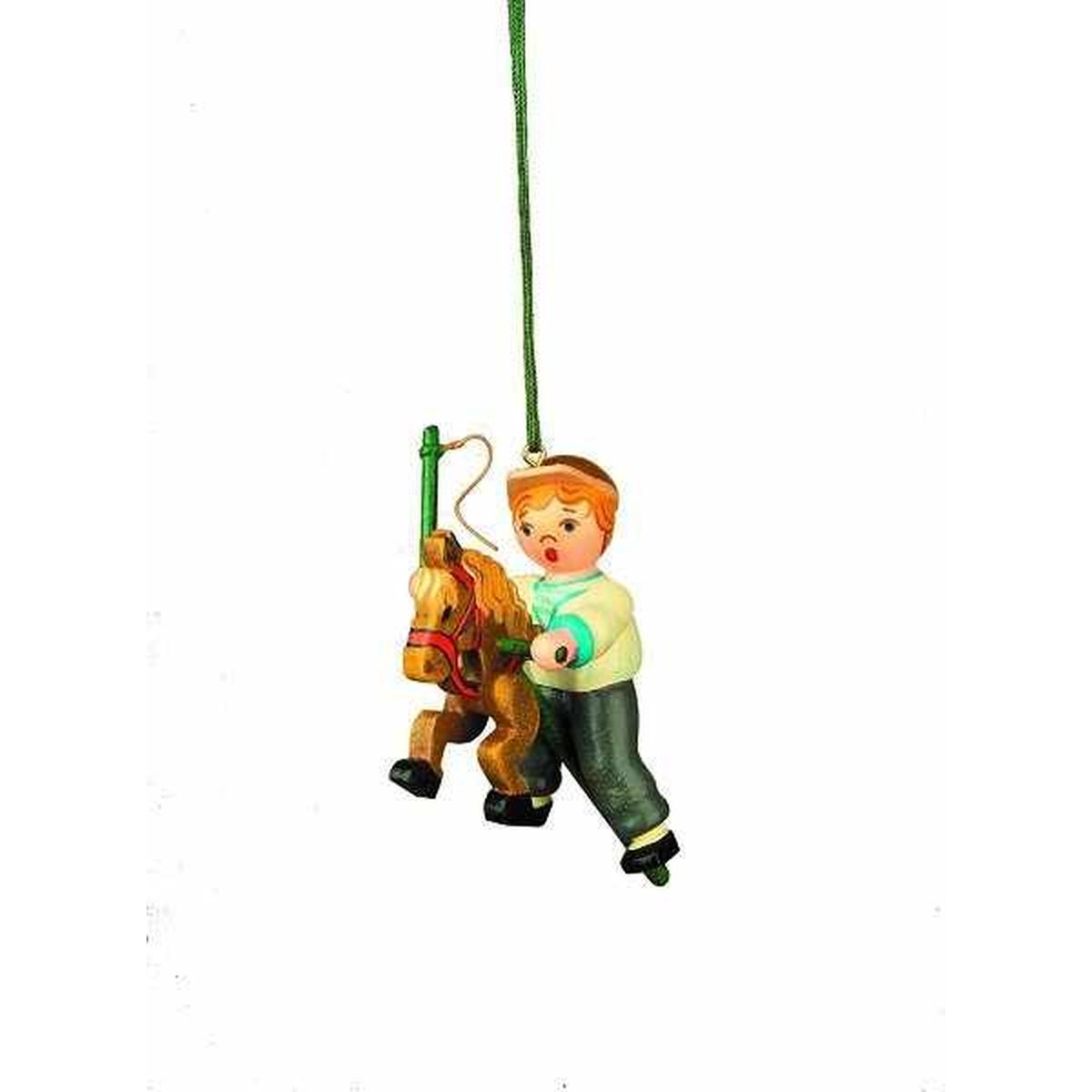 Baumbehang mein steckenpferd von hubrig volkskunst f r 15 - Weihnachtsdeko figuren ...