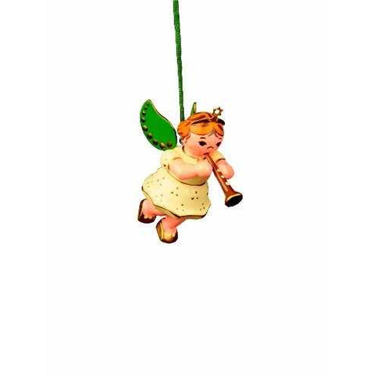 Baumbehang engel mit klarinette von hubrig volkskunst f r - Weihnachtsdeko figuren ...