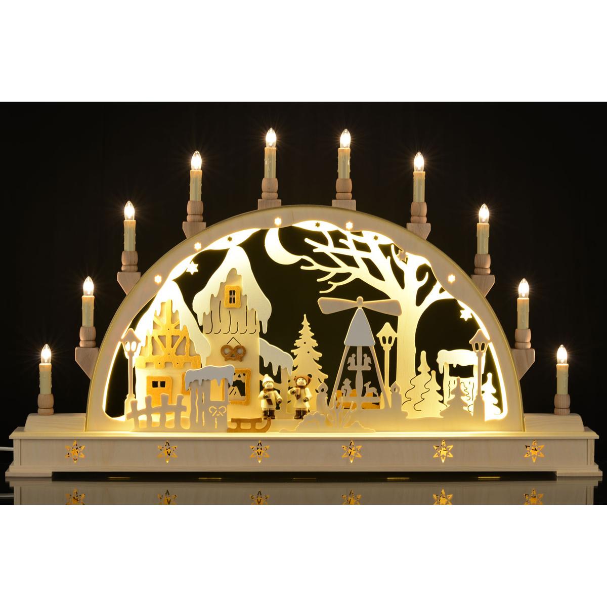 Schwibbogen LED-Beleuchtung Weihnachtsmarkt von Holger Seidel für ...