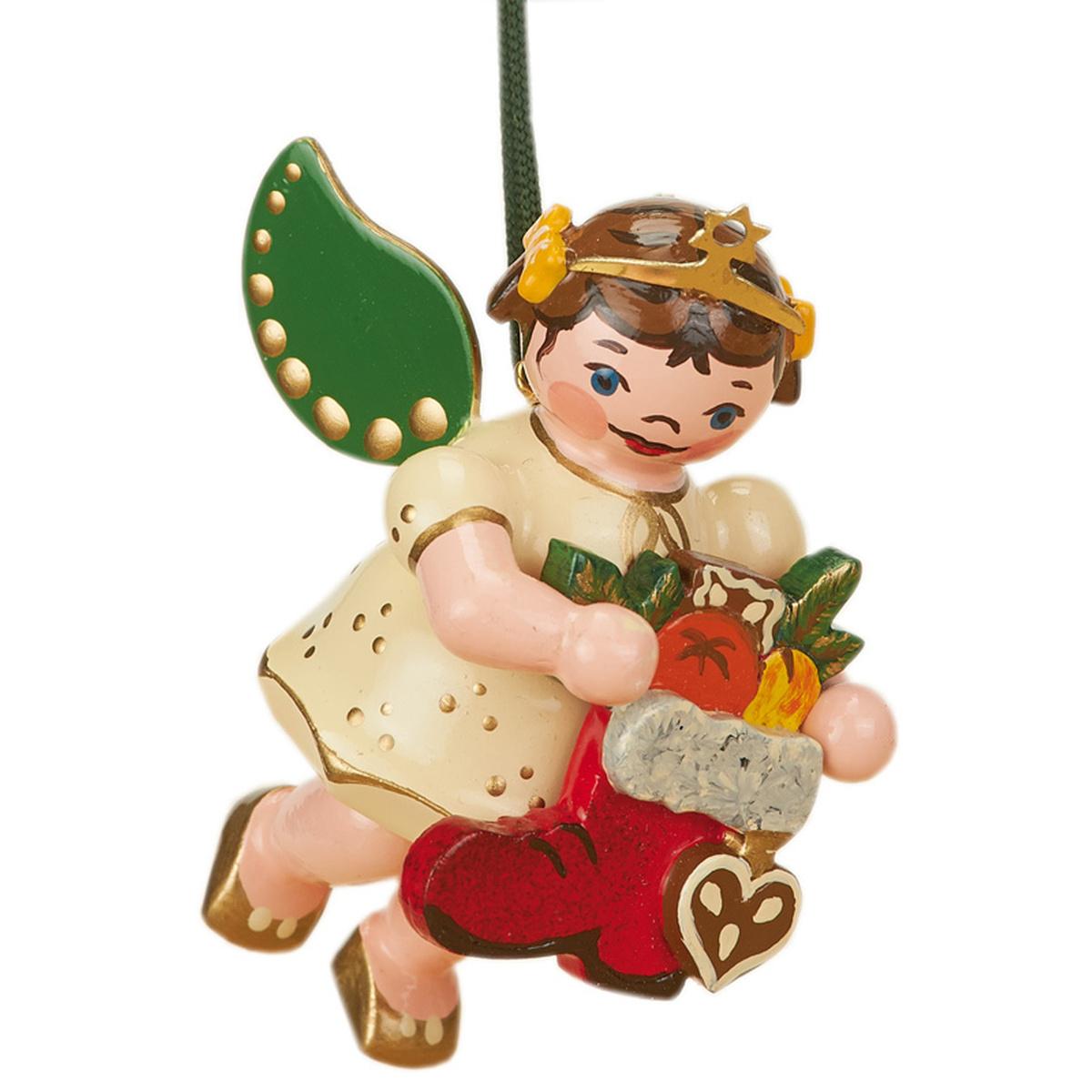 Baumbehang engel girlande von hubrig volkskunst f r - Weihnachtsdeko figuren ...