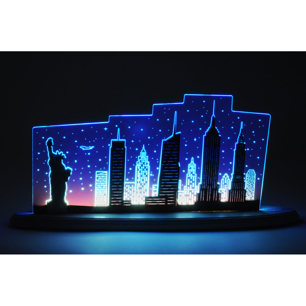 led motivleuchte 39 new york new york 39 von weigla f r 148 kaufen. Black Bedroom Furniture Sets. Home Design Ideas