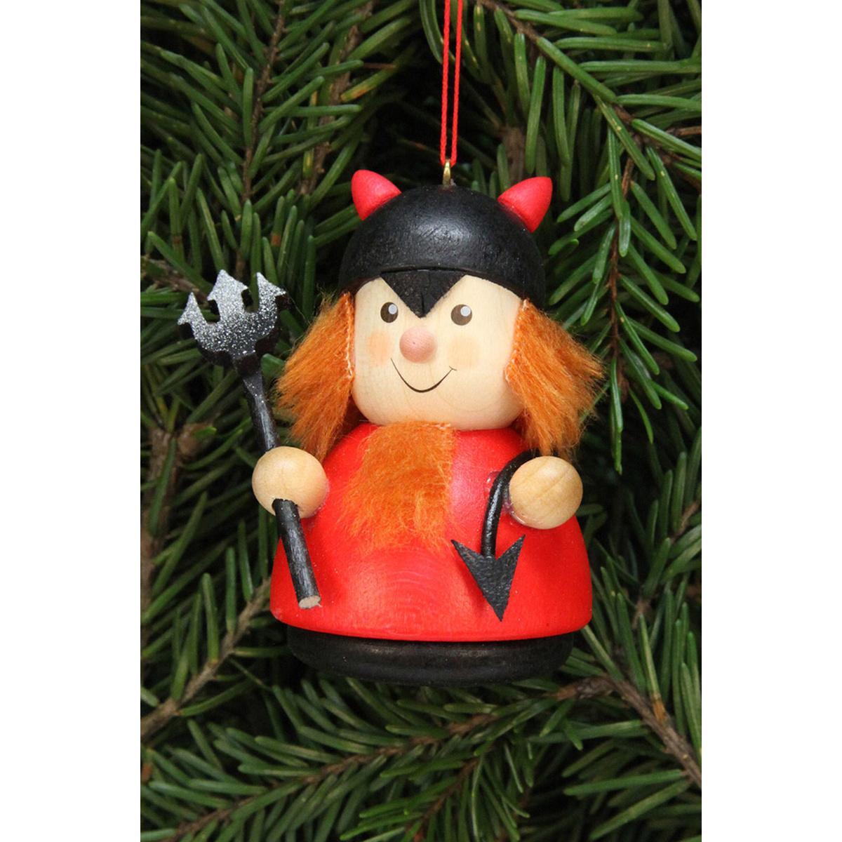 Baumbehang wackelm nnchen teufelchen von christian ulbricht f r kaufen - Weihnachtsdeko figuren ...