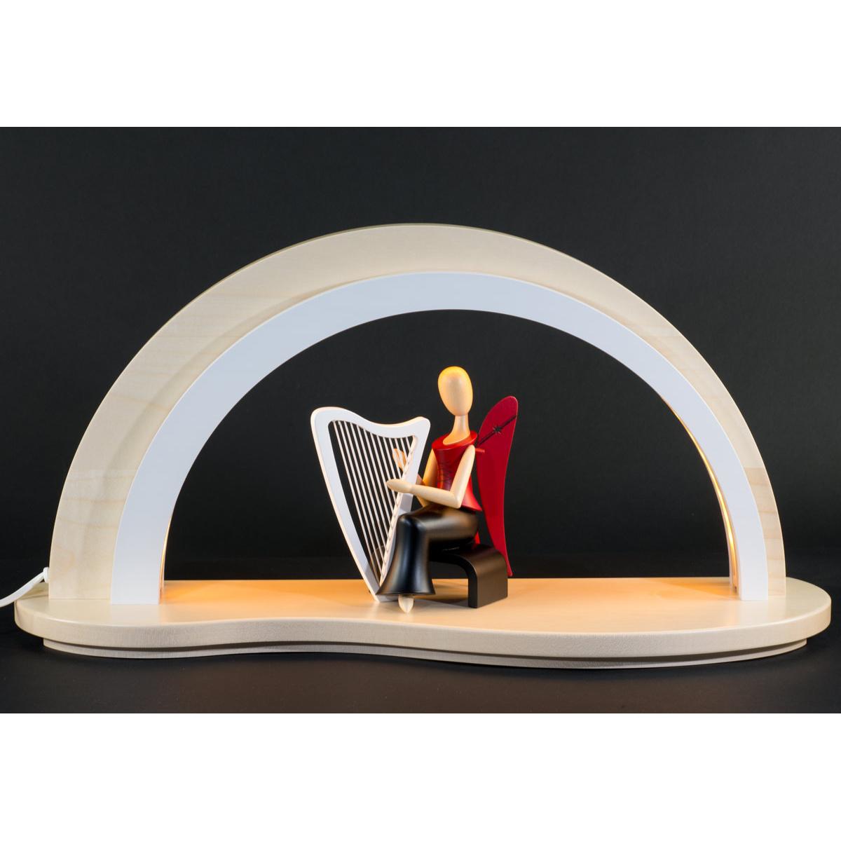 schwibbogen led beleuchtung ohne dekofl che natur von n umanns f r kaufen. Black Bedroom Furniture Sets. Home Design Ideas