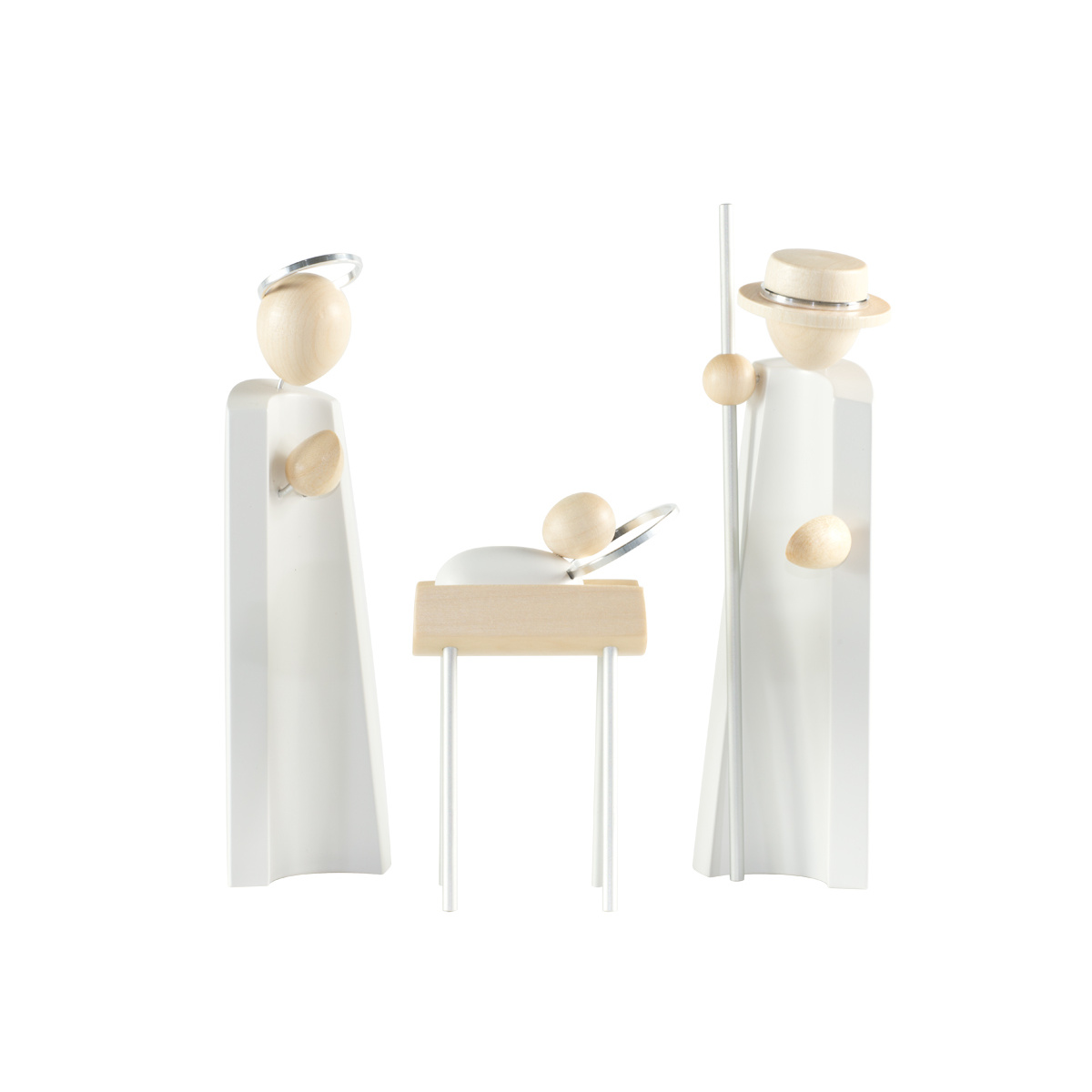 Weihnachtskrippe Heilige Familie Natur/weiu00df Von Nu00e4umanns Fu00fcr 125 U20ac Kaufen