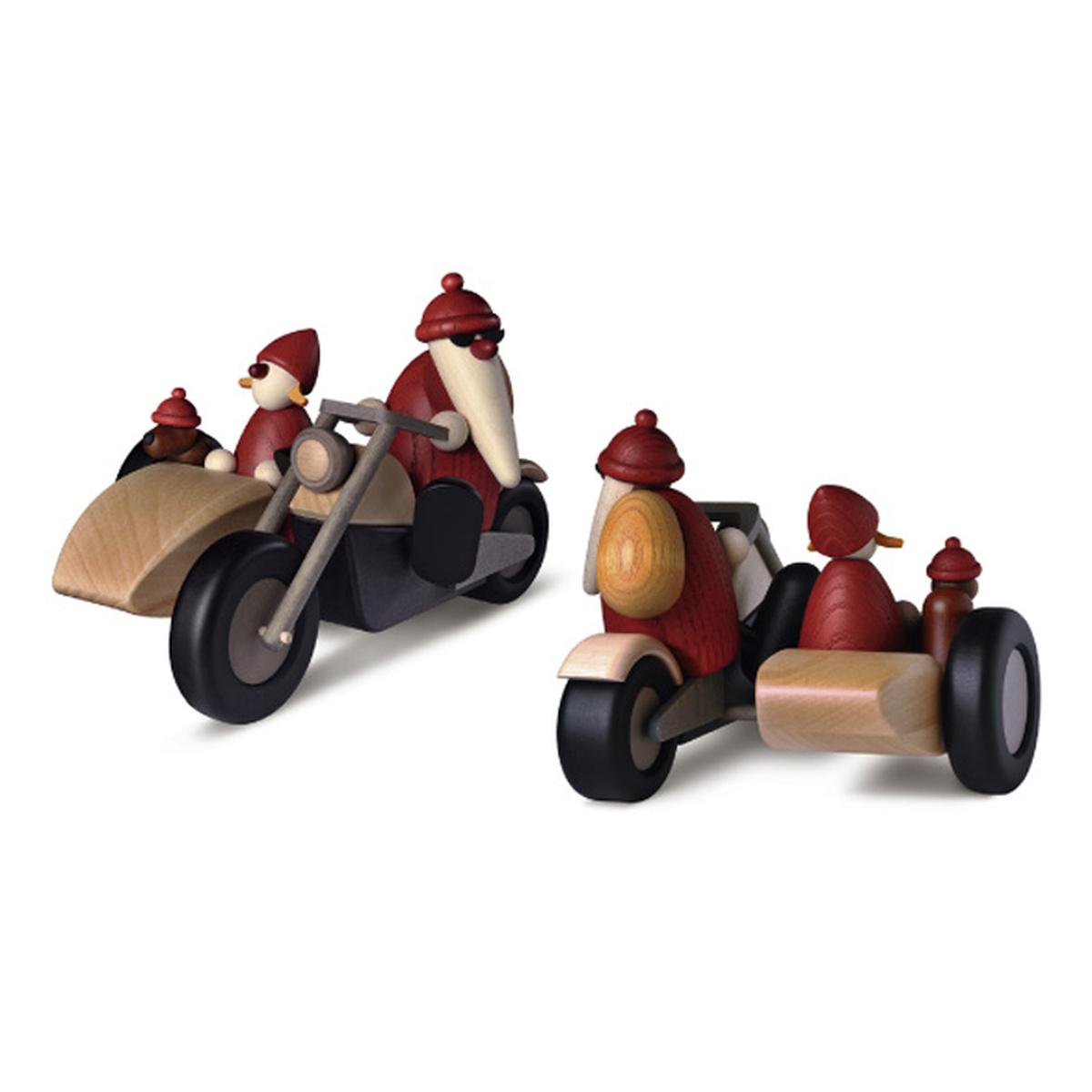 weihnachtsmann familienausflug mit motorrad von bj rn k hler f r 132 kaufen. Black Bedroom Furniture Sets. Home Design Ideas