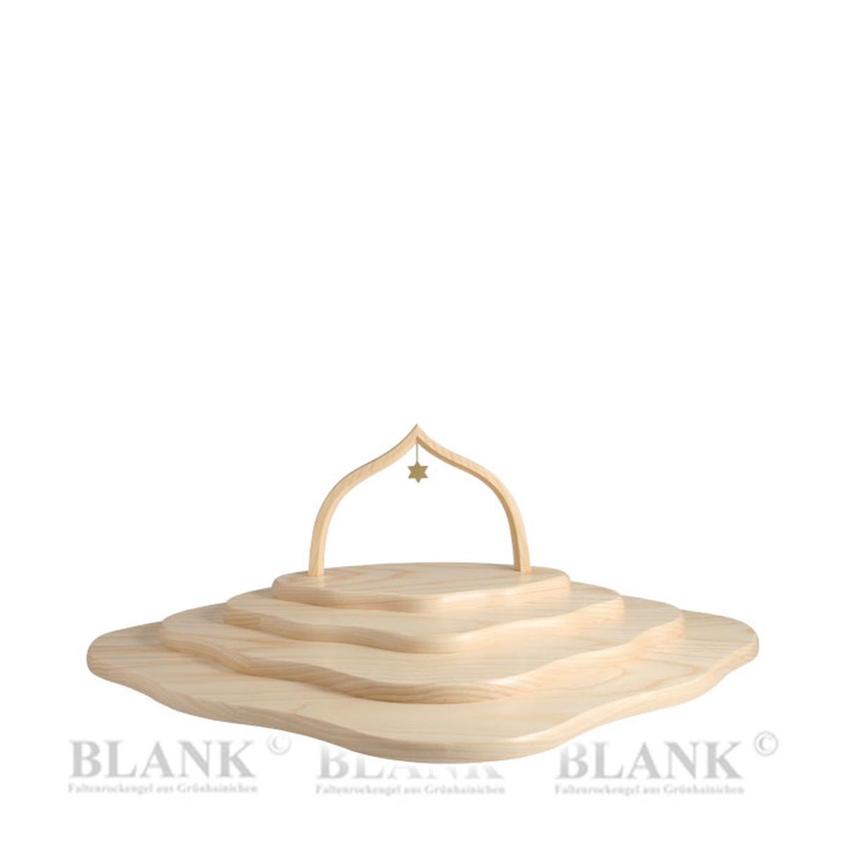wolke mit 4 etagen naturholz und bogen von blank. Black Bedroom Furniture Sets. Home Design Ideas