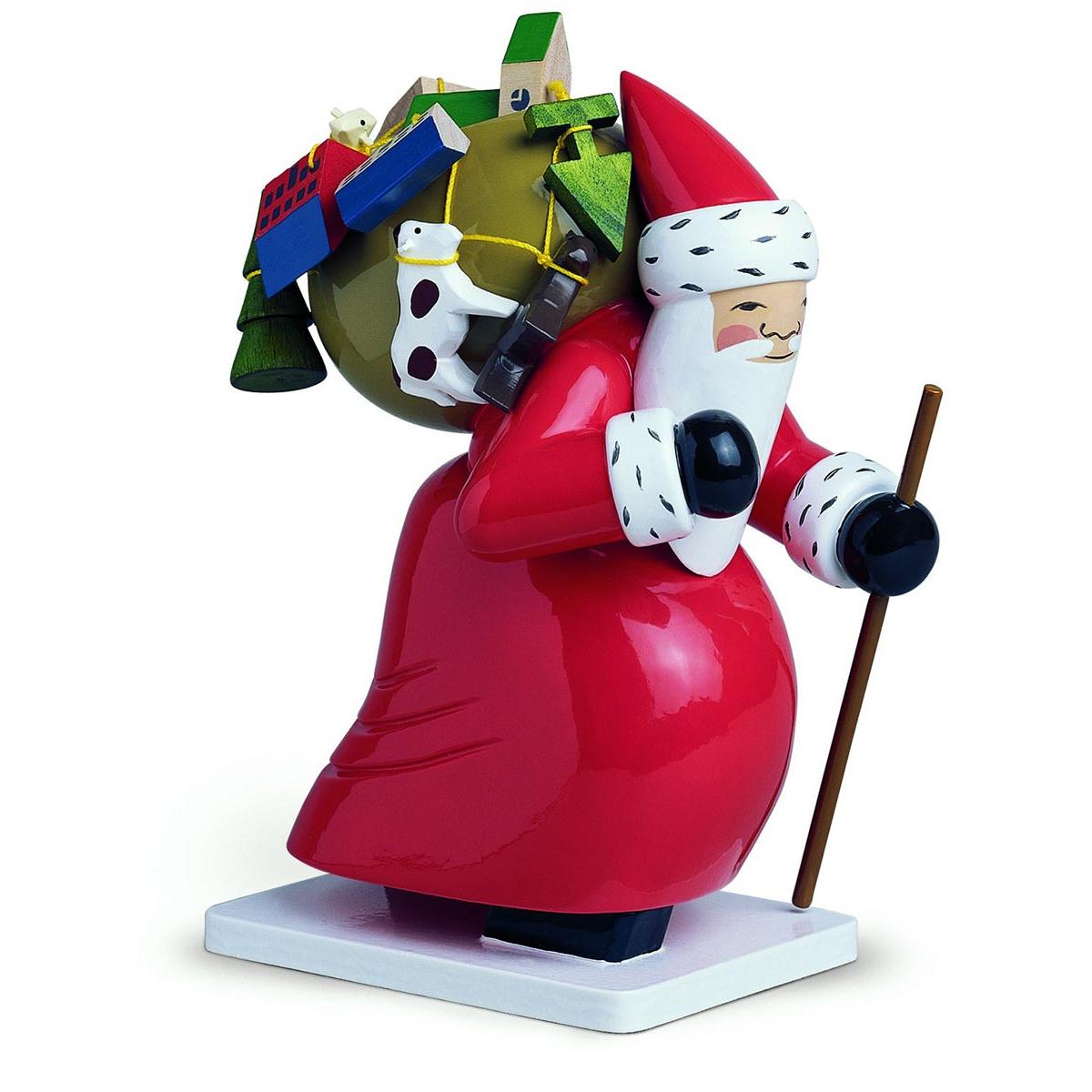 gro er weihnachtsmann mit spielzeug von wendt und k hn f r 185 4 kaufen. Black Bedroom Furniture Sets. Home Design Ideas