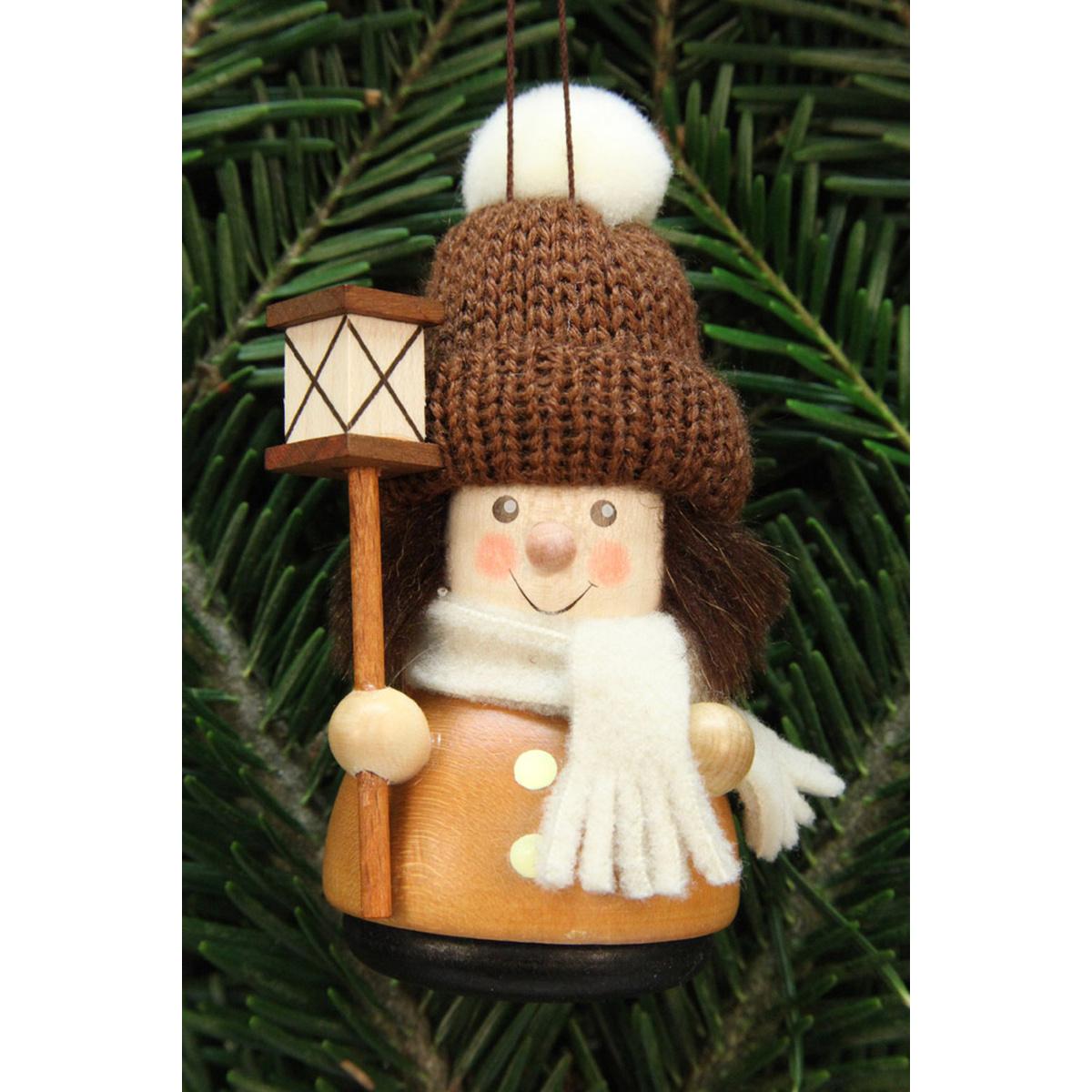 Baumbehang wackelm nnchen laternenbub natur von christian - Weihnachtsdeko figuren ...