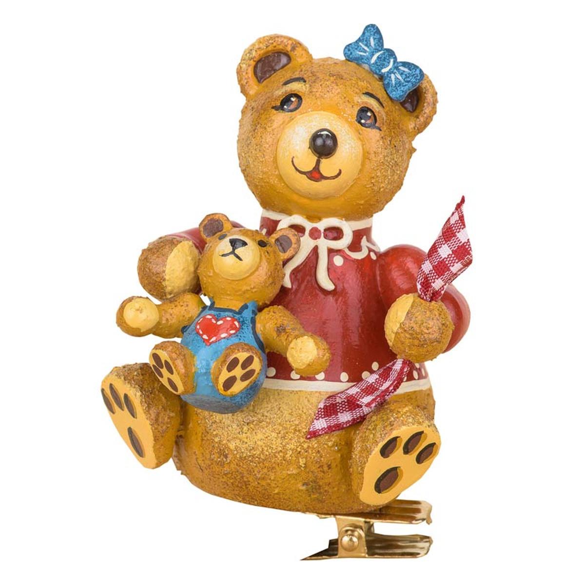 Baumbehang baumclipser teddy anni 39 s ollib r von hubrig - Weihnachtsdeko figuren ...