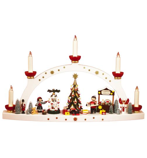 Erzgebirgische Weihnachtsdeko.Schwibbogen Erzgebirgische Weihnacht Limitiert Von Ulmik Für 449