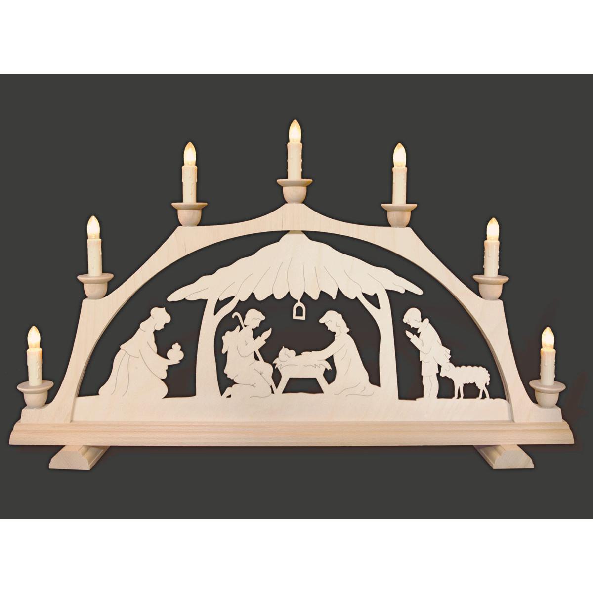 schwibbogen christgeburt im haus von rauta f r 79 8 kaufen. Black Bedroom Furniture Sets. Home Design Ideas