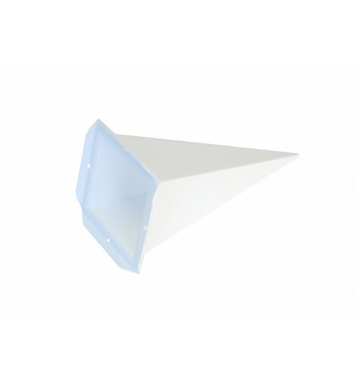 ersatzzacke viereck f r herrnhuter sterne a4 blau von. Black Bedroom Furniture Sets. Home Design Ideas