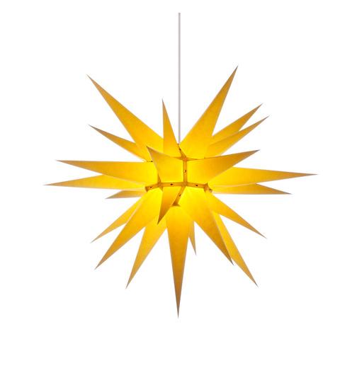 Herrnhuter Stern Beleuchtung : herrnhuter stern papier i7 70 cm gelb mit beleuchtung ~ Michelbontemps.com Haus und Dekorationen