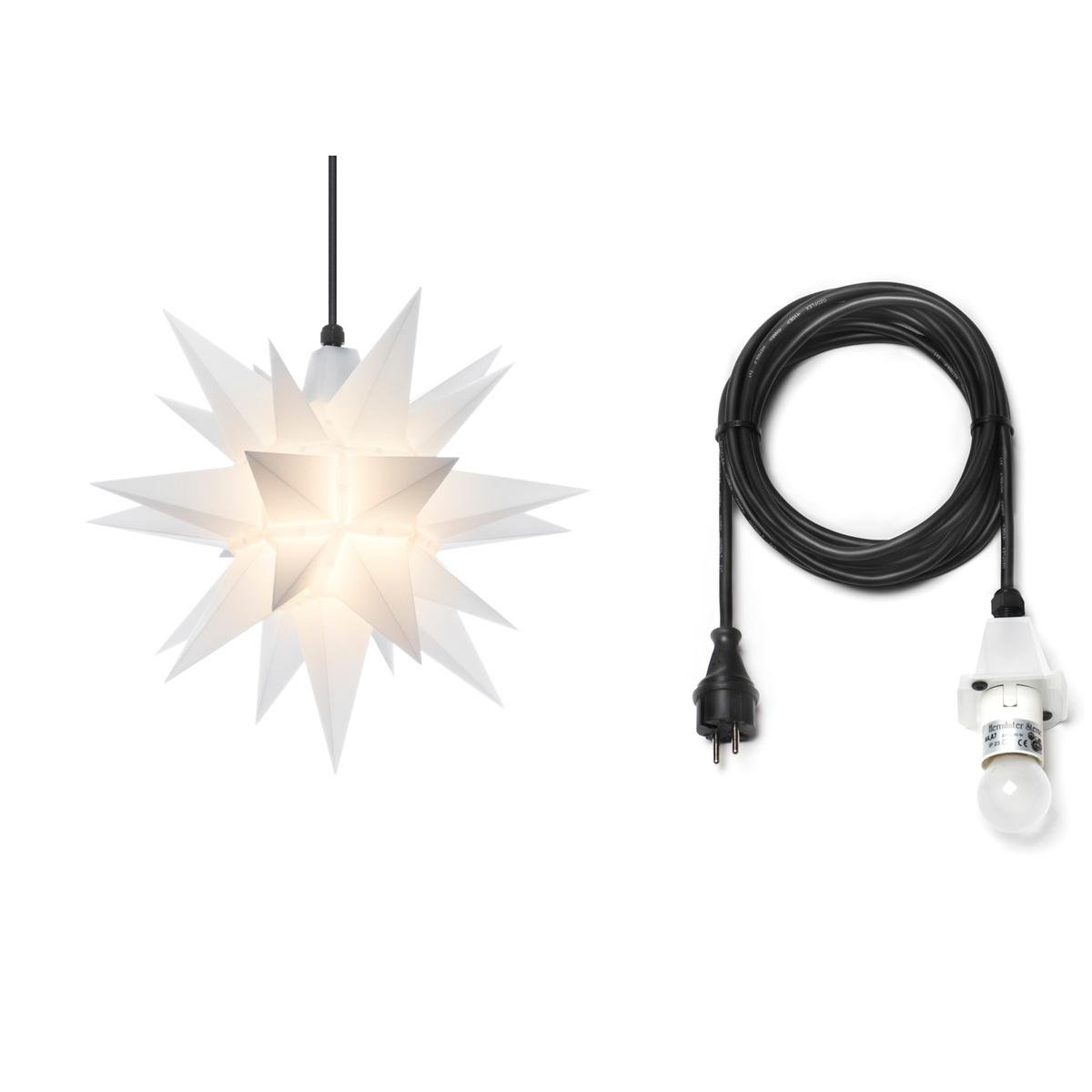 herrnhuter stern plastik a4 40 cm opal mit kabel 5 m von herrnhuter sterne f r 60 5 kaufen. Black Bedroom Furniture Sets. Home Design Ideas