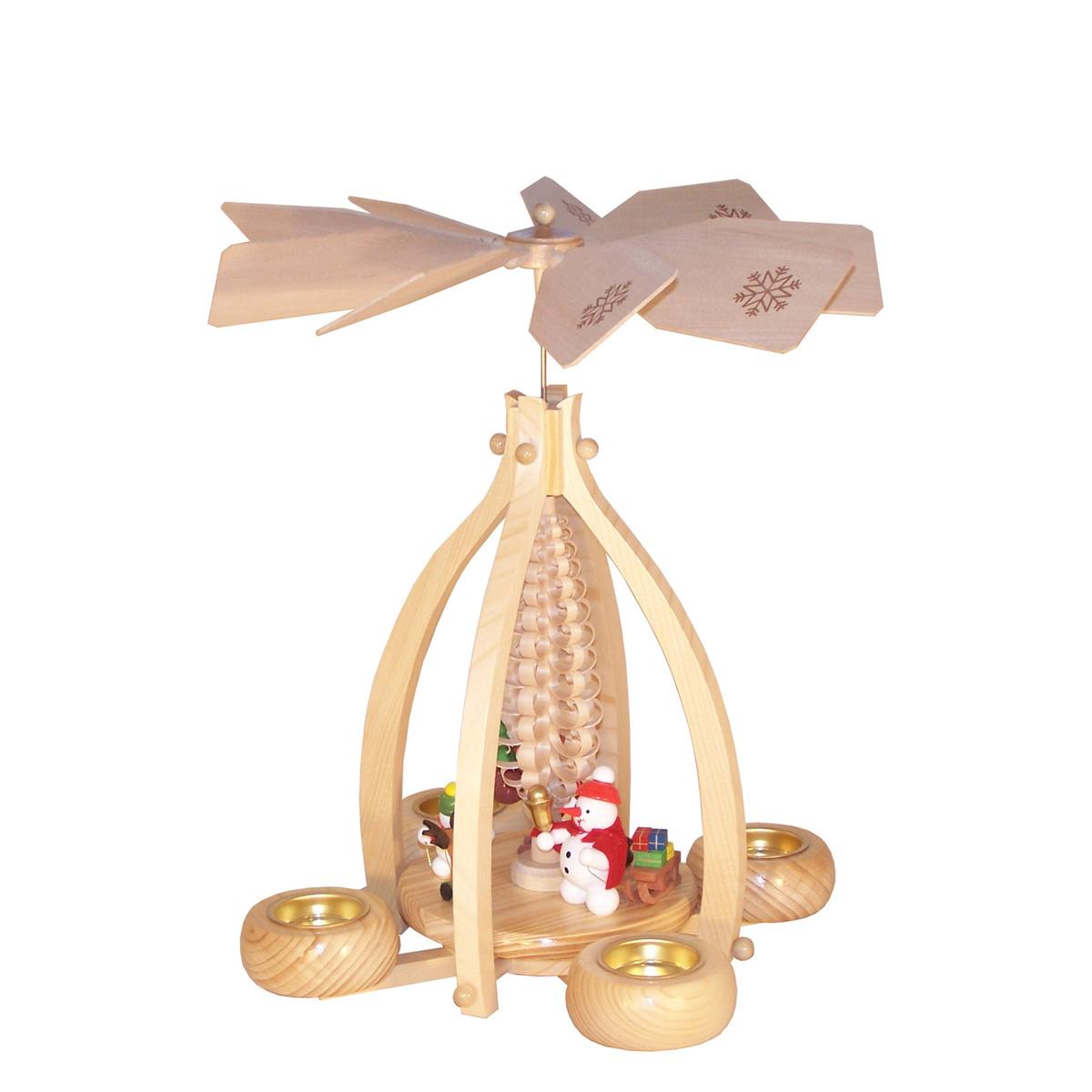 kugel schneemann pyramide f r teelichter von volker zenker f r 111 9 kaufen. Black Bedroom Furniture Sets. Home Design Ideas