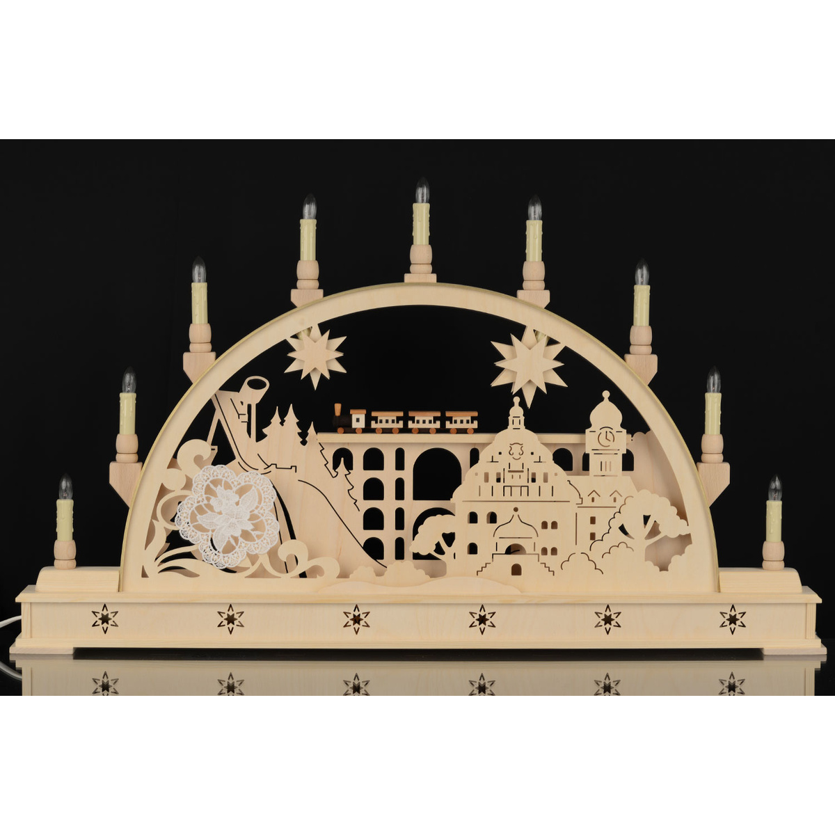 seidel schwibbogen vogtland mit sockel 78 cm von holger seidel f r 205 2 kaufen. Black Bedroom Furniture Sets. Home Design Ideas