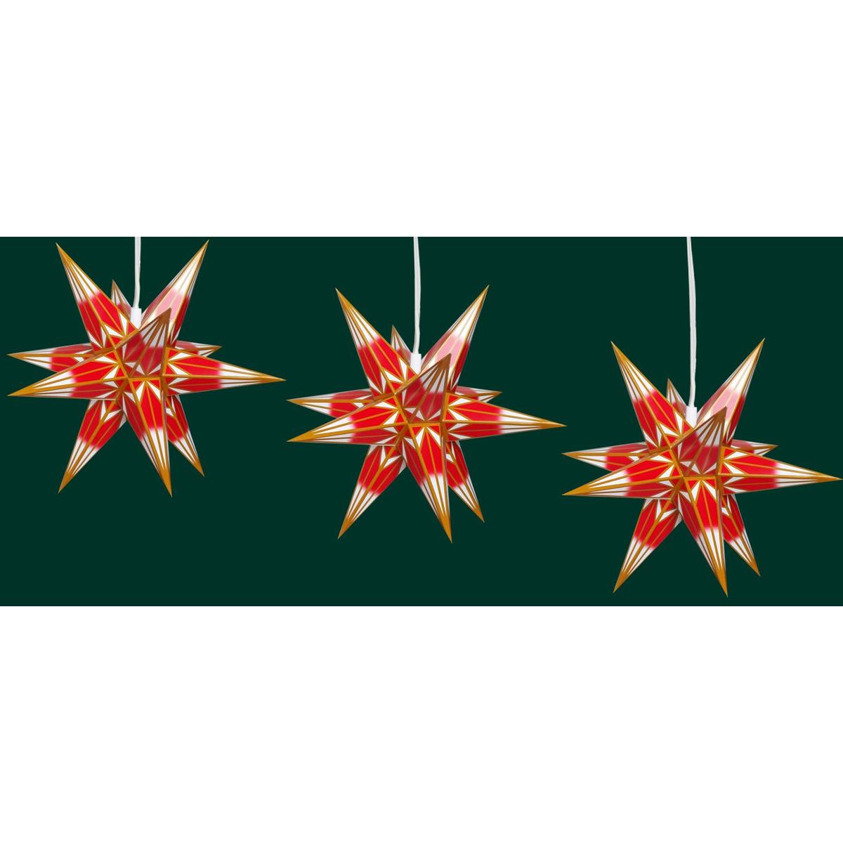 hasslauer stern mini f r innen rot mit goldmuster von hasslauer weihnachtssterne shop. Black Bedroom Furniture Sets. Home Design Ideas