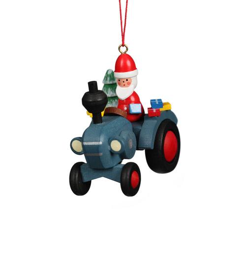 Baumbehang Traktor Mit Weihnachtsmann Von Christian Ulbricht Fur