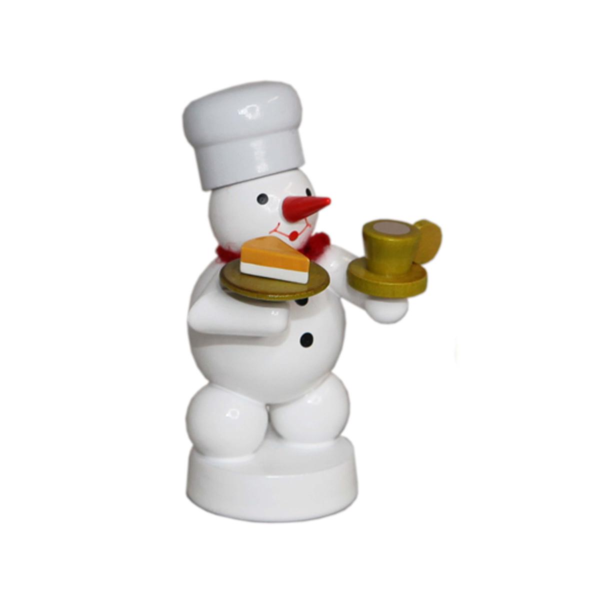 B cker schneemann mit kaffee und kuchen von volker zenker for Kuchen volker hosbach