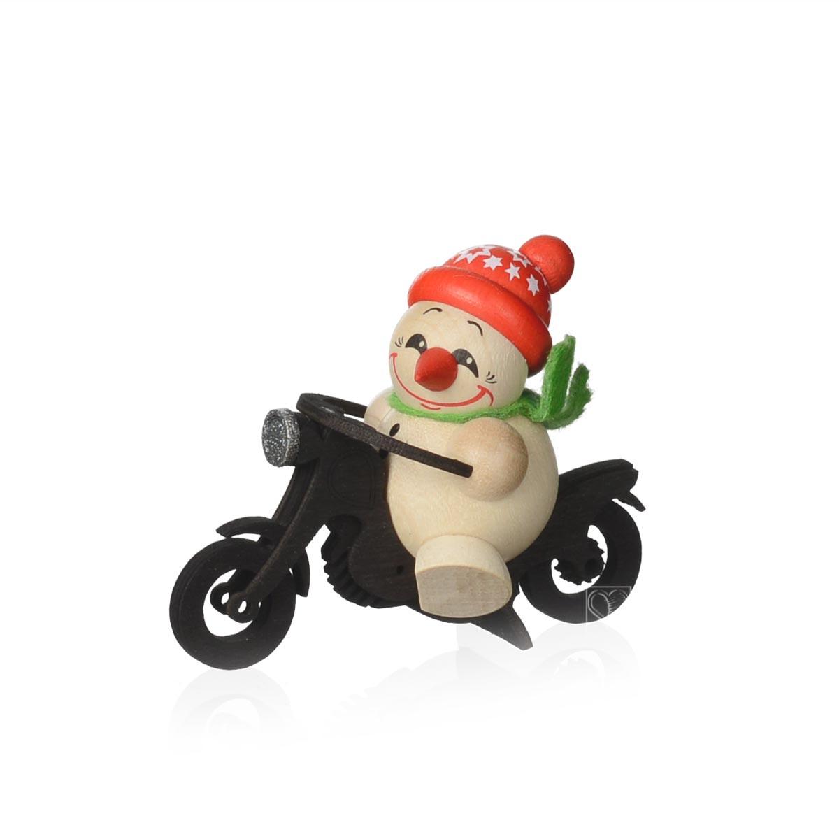 Kugelfiguren cool man motorrad von karsten braune f r 14 8 - Weihnachtsdeko figuren ...