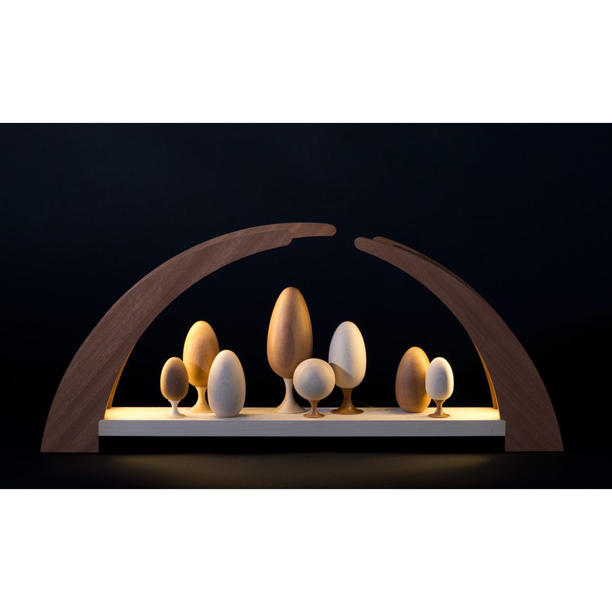schwibbogen led beleuchtung mit b umen von rauta f r 305 kaufen. Black Bedroom Furniture Sets. Home Design Ideas