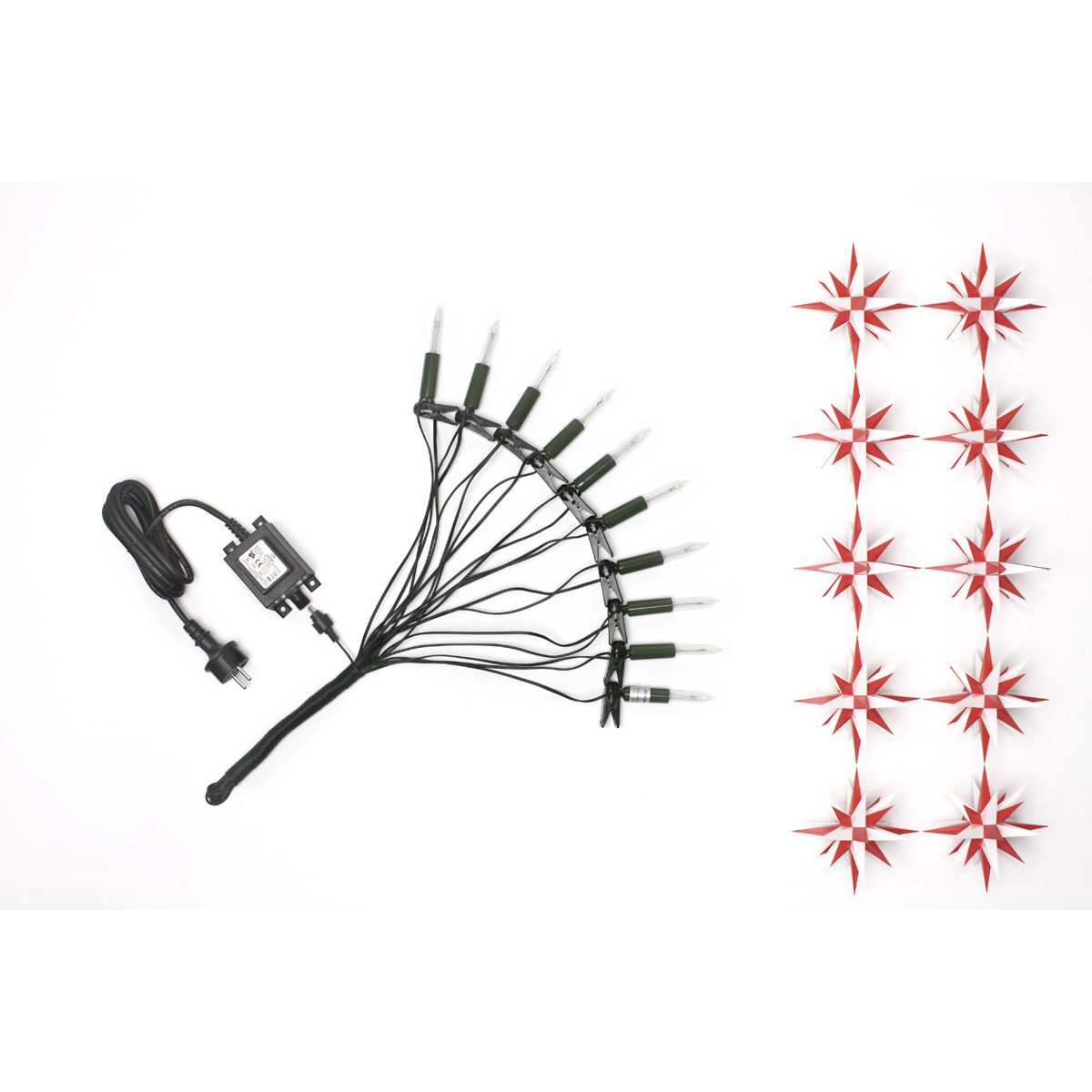 herrnhuter sternenkette wei rot a1s f r innen und au von herrnhuter sterne f r 105 kaufen. Black Bedroom Furniture Sets. Home Design Ideas